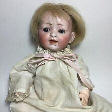 ANTIQUE HERTEL & SCHWAB DOLL GERMAN CHARACTER BISQUE BABY # 152 2 Small 11.5""