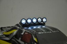 RC Roof Top Spot Light Set 5 LED for 1/10 Car Buggy Crawler Black color only