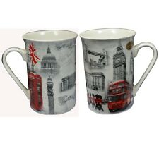 Old London Design de L&P designer souvenir fine bone china tea Mug dans boîte cadeau