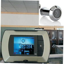 2.4'' LCD Visual Monitor Door Peephole Peep Hole Wired Viewer Camera Video LO