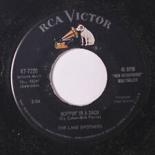 LANE BROTHERS: Boppin' In A Sack / Somebody Sweet 45 Oldies