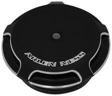 Arlen Ness 70-300 Gas Cap w/LED Gauge Black Beveled 26-1458 0703-0583