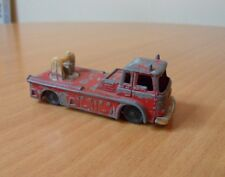 VINTAGE HUSKY BEDFORD Simon SNORKEL FIRE ENGINE-MATCHBOX dimensioni-playworn