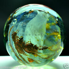 LARGE Vintage Isle of Wight Studio Art Glass Paperweight Hand Made England #1512