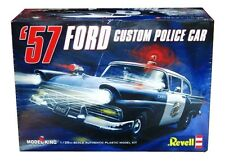 Model King Revell Monogram  1957 Ford Custom 300 Police Car  model kit 1/25