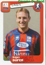 095 GREGORY DUFER BELGIQUE SM.CAEN SPORTING CHARLEROI STICKER FOOT 2005 PANINI