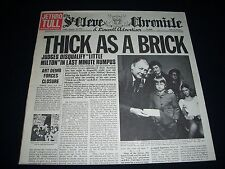 JETHRO TULL - LP: Thick As A Brick (UK 1972)