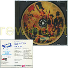 "THE BEATLES ""PARIS JUNE 20, 1965"" RARE CD LIMITED 1987 ITALY - ONLY 2000 COPIES"