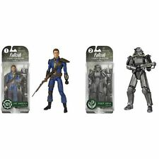FUNKO LEGACY BETHESDA FALLOUT 4 SET OF 2 FIGURES Lone Wanderer & POWER ARMOR