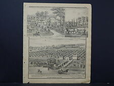 Wisconsin, Walworth County Engravings, 1873, Sugar Creek Township M4#29