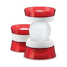 Zoku Ice Ball Molds Set of 2 - Ice Ball Maker / Press / Tray - NEW