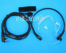 Earpiece Headset PTT Throat Mic for KENWOOD Radio TH-28 TH-28A TH-28E TH31 TH31A