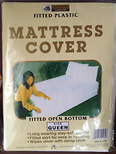 mattress cover, queen size, fitted open bottom- 1 piece