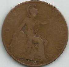 GREAT BRITAIN 1914 GEORGE V PENNY COIN