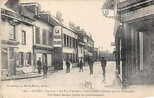 POSTCARD    MILITARY    WWI  ALBERT  Amiens  St  before  the bombing