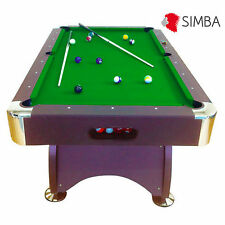 7Ft green Pool Table Billiard Playing Billiards table Cloth Indoor Sports Game