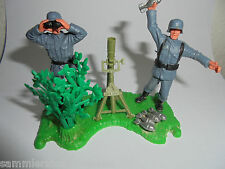 Timpo Action Models Wehrmacht mortair German Granatwerfer WWII  seventies
