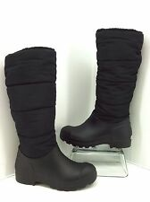 Dirty Laundry Women's Puffy Snow Boots, Black Size 7 M