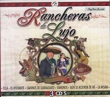 Jose Antonio Juan Michel Los Aguilar Dueto Azteca Rancheras De Lujo 3CD Nuevo