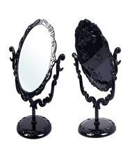 Hot Sell Desktop Pivoting Gothic Small Size Rose Length Mirror Butterfly