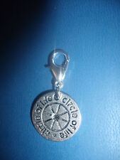 * CIRCLE OF LIFE  * PAGAN  - WICCA - NEW AGE -  CLIP ON CHARM