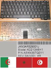 Clavier Qwerty Arabe Advent 7110 7106 K021346H1 AEKN3STQ011 Noir