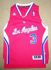 Chris Paul #3 Los Angeles Clippers Basketball Adidas Sewn Jersey Youth Size Med