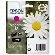 1 Magenta Genuine Epson XP-30 XP-225 XP-322 XP-405WH XP-412 XP-422 Ink Cartridge