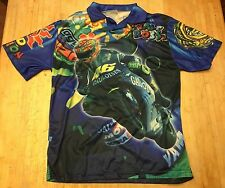 Mens Valentino Rossi 46 Polo/Collar Short Sleeve Shirt Small