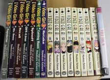 Complete Set Video Girl AI Vol 1-15 Viz Masakazu Katsura + DVD NICE SHAPE UNREAD