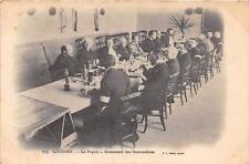 CPA 65 LOURDES LA POPOTE RESTAURANT DES BRANCARDIERS (dos non divisé)