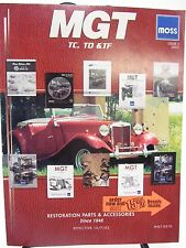 MOSS MOTORS Issue 2 October 2002 - Restoration Parts & Accessories