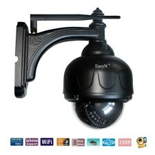 Clearance Easyn 3x Zoom 0.3MP Wireless WiFi PTZ Night Vision Outdoor IP Camera