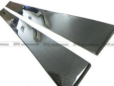 New 2pcs Racing Side Skirt Under Board For LEXUS 05-13 IS250 XE20 Carbon Fiber