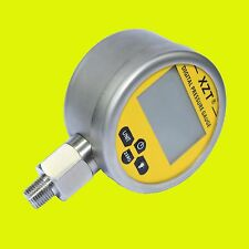 Hydraulic Digital Pressure Gauge-80mm-700BAR/10000PSI(NPT1/4) -Base Entry