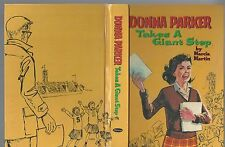 Donna parker takes a giant step by marcia martin art mary stevens whitman 1955