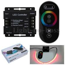12-24V 18A RF Funk Controller Touch Funktion Steuergerät mit FB f. LED RGB Strip