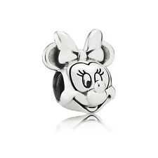 Authentic Pandora Charm  Sterling Silver Minnie Portrait Disney Bead 791587