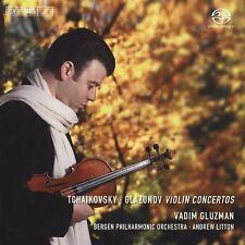 Tschaikowski Violinkonzerte - Litton,Gluzman,Bergen Phil.O. SACD