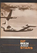 """LOCKHEED MAGAZINE """"OF MEN AND STARS,"""" NOV. 1957-""""JITTERS AND JETS"""""""