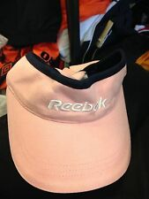 REEBOK PINK SUN VISOR AT £4 ONE SIZE