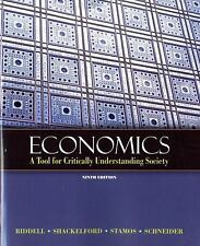 Economics : A Tool for Critically Understanding Society by Tom Riddell, Jean A.…