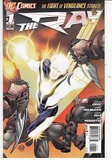 THE RAY  #1-3 INCOMPLETE MINI SERIES - JAMAL INGLE ART & COVER - DC's THE NEW 52