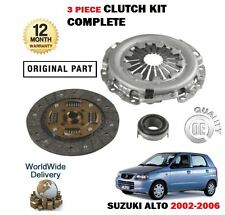 FOR SUZUKI ALTO 1.1 16V F10D 2002-2006 NEW CLUTCH PLATE COVER BEARING KIT