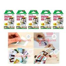 100 Pcs 10 Pack Fujifilm Instax Mini Film 90 8 25 7S 50s 55i SP-1 Instant Camera
