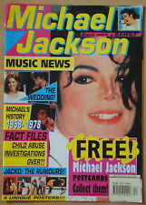 Michael Jackson Music New Magazine Nr 12 no posters HIStory, BAD, Dangerous RARE