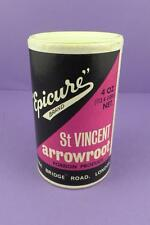 Epicure St Vincent Arrowroot Carton c1970s - Petty, Wood & Co. London