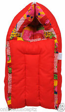 Baby Bed/Baby Bedding Set/Baby Carry/Baby Carrier/New Born/Baby Wrap/ Red - S
