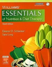 Williams' Essentials of Nutrition and Diet Therapy w/ CD by Eleanor D. Schlenker
