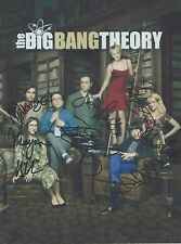 The Big Bang Theory (Season 9 Promo) Jim Parsons CAST (7) SIGNED RP 8x10 WOW!!!